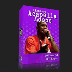 国外干声说唱/Rap Acapella Loop Pack 30 (80-130bpm)