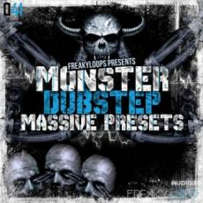 【Massive合成器Dubstep风格预制音色】Freaky Loops Monster Dubstep Massive Presets NMSV