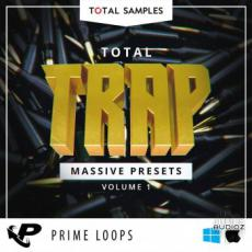 【Massive合成器Trap风格预制音色】Prime Loops Total Samples Total Trap Massive Presets NMSV