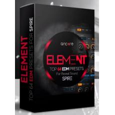 【SPiRE合成器EDM风格预设音色】Ancore Sounds Element EDM For Spire Taster Pack Vol.1 FOR REVEAL SOUND SPiRE