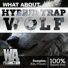 【Trap风格采样+预设音色】W.A. Production Hybrid Trap Wolf WAV MIDi Presets Templates