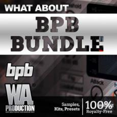 【Future Bass风格采样+预设音色】WA Production BPB Bundle Future Bass Pop Synthwave WAV MiDi XFER SERUM PRESETS